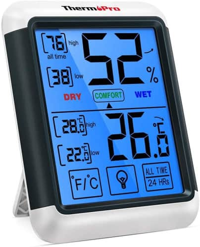 Termómetro ambiental thermopro tp55